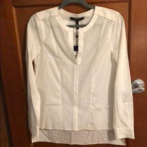 BCBGMaxAzria Low High Tunic Shirt.